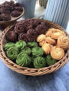 Jelly Cookies, Spritz Cookies, Galletas Cookies, Yummy Cookies, Cake Cookies, Baking Recipes, Cookie Recipes, Dessert Recipes, Christmas Deserts