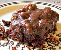 My favorite chocolate cake! It is super moist.
