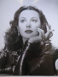Hedy Lamarr, actress, inventor, and mathematician