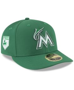 c6d883191b7da Miami Marlins St. Patty s Day Pro Light Low Crown 59Fifty Fitted Cap. Gorras  Para HombreCorona. New Era ...