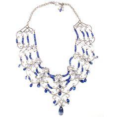 "CHOPARD ""Copacabana"" 6.65ct Diamond Sapphire Necklace"