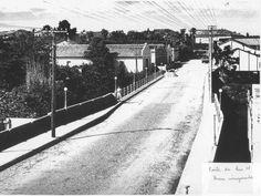 Capivari 1950 Ponte sobre o rio Capivari na continuação da rua XV de Novembro
