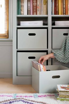 How to make custom plywood storage boxes #storage #boxes #organization