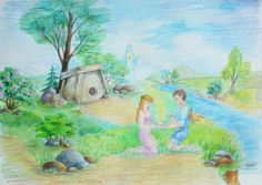 """Near a Dolmen"" by Tata S."