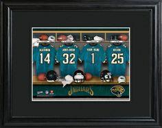 Jacksonville Jaguars Locker Room Photo