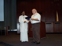 Shuddhaanandaaji is awarded Honorary Citizen of Naperville, IL, USA by Mayor Pradel  in 2005