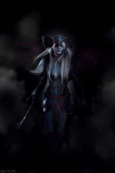 DotA 2 - Vengeful Spirit - The Fallen Princess by MilliganVick on DeviantArt
