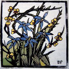 Prints & Graphics - Margaret Rose (MacPherson) Preston - Page 9 - Australian Art Auction Records Margaret Preston, Margaret Rose, Australian Painters, Australian Artists, Botanical Drawings, Botanical Prints, Linocut Prints, Art Prints, Australian Wildflowers