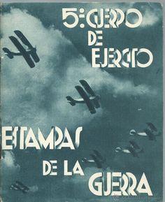 LIBRO 52 PAG. DE - ESTAMPAS DE LA GUERRA CON MAS DE 214 FOTOS ALGUNAS INEDITAS EDIT. ZARAGOZA 1937 - Foto 1