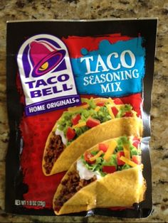 Taco Bell Seasoning Mix Review - News - Bubblews