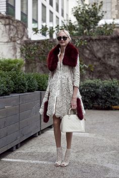 Claire Courtin-Clarins at Paris Couture