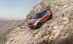 The all-new full-size Discovery embodies the Land Rover brand's drive to go Above and Beyond, combining British desirability with an unstoppable spirit of