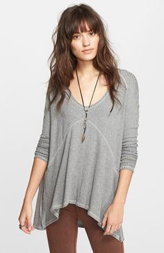 Free shipping and returns on Free People 'Sunset Park' Thermal Top at Nordstrom.com. Cozy thermal fabric and a relaxed, drapey fit make this textured ballet-neck top a favorite casual style.