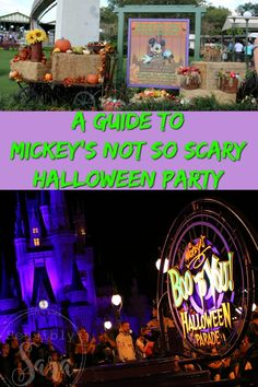A Guide to Mickey's Not So Scary Halloween Party | SensiblySara.com