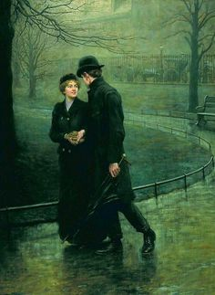 Hugh Goldwin Rivière, The Garden of Eden, 1901