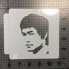 Bruce Lee Stencil 100