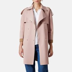 Rank & Style Top Ten Lists | Topshop LBonded Trench #rankandstyle