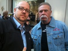 Paul Sr during a filming of Celebrity Apprentice, NYC Outside Lord and Taylors
