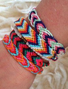 DIY: Friendships bracelets - www.wimketolsma.nl #diy