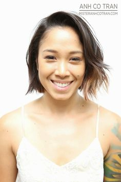 SHORT HAIR SATURDAY PT 2! Cut/Style: Anh Co Tran. Appointment inquiries please call Ramirez|Tran Salon in Beverly Hills: 310.724.8167