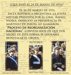 Resultado de imagen para imagenes sobre lo sucedido el 24 de marzo de 1976