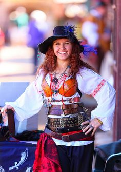 Jennifer Muraca as Captain Blackstrap 2012 Arizona Renaissance Festival (ARF) by gbrummett, via Flickr