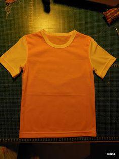 Tafana: Dětské tričko - postup pro úplné začátečníky