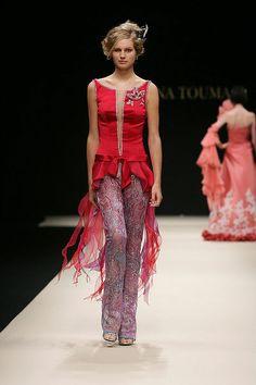 Hanna Touma «Délices d'winter», AH 2007-2008 - Couture
