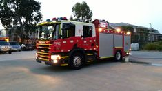 https://flic.kr/p/RFVVft | South Morang CFA Scania P320 Heavy Pumper at early evening.