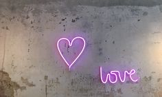 Neon Style Light HEART PINK Neon Licht, A Little Lovely Company, Neon Style, Led, Retro, Montage, Pink, New Homes, Neon Signs