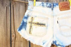 bleached denim done right~