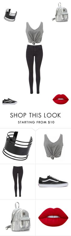 """""""Untitled #3253"""" by cierrawebb ❤ liked on Polyvore featuring Topshop, Maison Scotch, Vans and Lime Crime"""