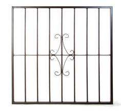 Reja de hierro de seguridad para ventanas. Modelo Basico CC.
