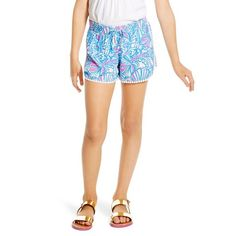 Lilly Pulitzer for Target Girls' Pompom Shorts - My Fans