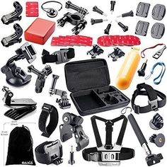 BAXIA TECHNOLOGY 44-in-1 Accessory Kit for GoPro HERO 4/ 3+/ 3/ 2/ 1, Black Silver review - http://www.bestseller.ws/blog/camera-and-photo/baxia-technology-44-in-1-accessory-kit-for-gopro-hero-4-3-3-2-1-black-silver-review/