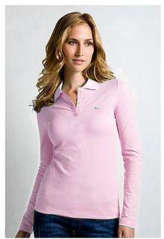 10 Best Women Polo Lacoste images   Polo shirt women, Long sleeve ... 6f1756fd32