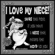 It  should say Nieces