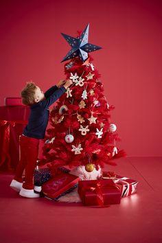Lot de 3 décorations de Noël rennes beige - Vertbaudet e7f7162a50b