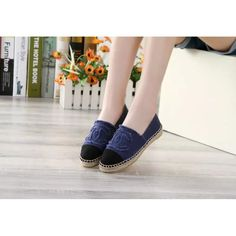 Replica Chanel Espadrilles shoes for women, very hot fashion shoes, Canvas Shoes, top quality