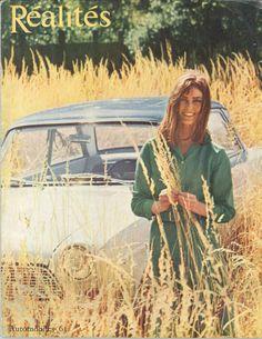 """Salon de l'automobile 1963: l'une des grandes nouveautés est la Ford """"Taunus 12 M"""" (photo Jean-Philippe Charbonnier) - Réalités n°201, octobre 1962."""