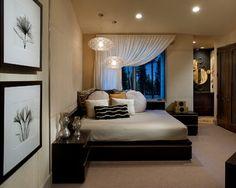 Modern Mountain - Lake Tahoe - contemporary - bedroom - phoenix - IMI Design, LLC