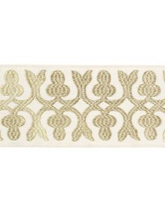 Barry Dixon for Vervain Temeric Flat Trim by TheDraperyGal on Etsy Curtain Trim, Drapery Panels, Curtains, Lead Edge, Soft Furnishings, Fabric Decor, Fabric Patterns, Branding Design, Upholstery