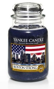 Tea-scented Boston Strong Yankee Candle | Delecteable