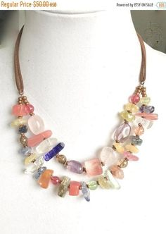 905eca77b8cb4 482 Best Jewelry - Multirow NKs images in 2019   Beaded necklace ...
