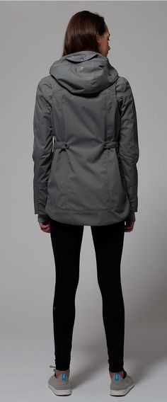 water–resistant jacket with shoulder articulation provides full range of movement when you're dashing from school to practice. | Rain Embracer Jacket