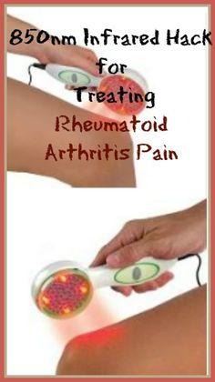 Rheumatoid Arthritis Remedies Thirteen Dollar Infrared Hack for Treating Rheumatoid Arthritis Pain What Is Rheumatoid Arthritis, Arthritis Diet, Fibromyalgia Pain Relief, Sciatica Pain Relief, Runners Knee Pain, Home Remedies For Arthritis, Natural Cures, The Cure, Hands
