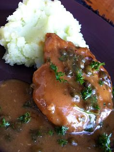 Chicken Picatta with Scallion Parsley Mashed Potatoes - The Kitchen McCabe