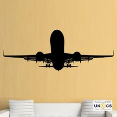 Aeroplane #boeing jet cool boys #bedroom wall art #stickers decals vinyl home roo,  View more on the LINK: http://www.zeppy.io/product/gb/2/301857080738/