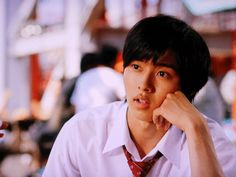 """Wanna go with me?""  Kento Yamazaki, J live-action Movie of manga ""L<3DK"", 2014. Plot & Movie: http://myasiantv.com/movie/l-dk/ [Eng. Sub]"