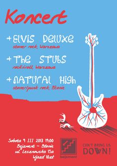 Gig poster Guitar Posters, Band Posters, Music Posters, Stoner Rock, Gig Poster, Daily Inspiration, Tumblr, Writing, Funny